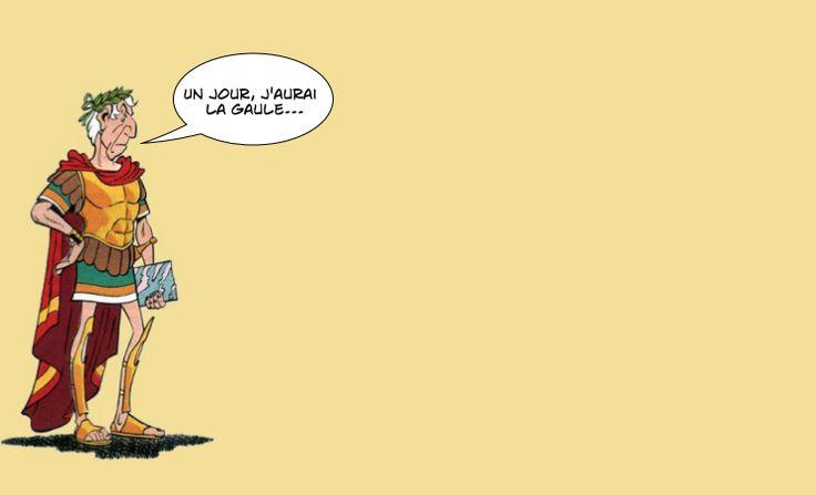 Dans Astérix, Jules César est impuissant face à ce petit village gaulois qui résiste encore et toujours à l'envahisseur.