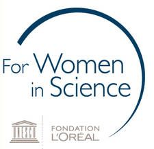 UNESCO-l'Oréal partnership For Women in Science: Logo