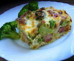 Zapiekanka z brokułem i makaronem Anullka