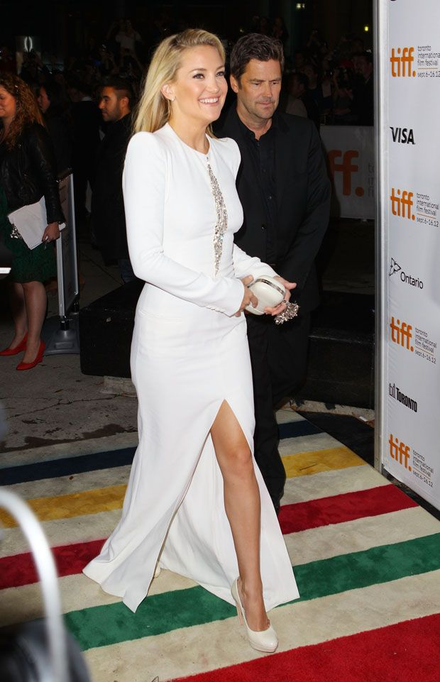 Kate Hudson in Alexander McQueen 'The Reluctant Fundamentalist' Toronto Film Festival Premiere