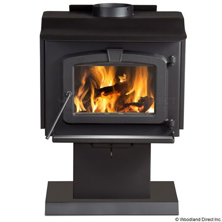 Residential Retreat 1200 High Efficiency Wood Stove & Blower #LearnShopEnjoy $939 includes blower and made in the USA