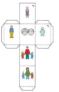 Recursos para Docentes: Story cubes y formación de frases                                                                                                                                                                                 Más