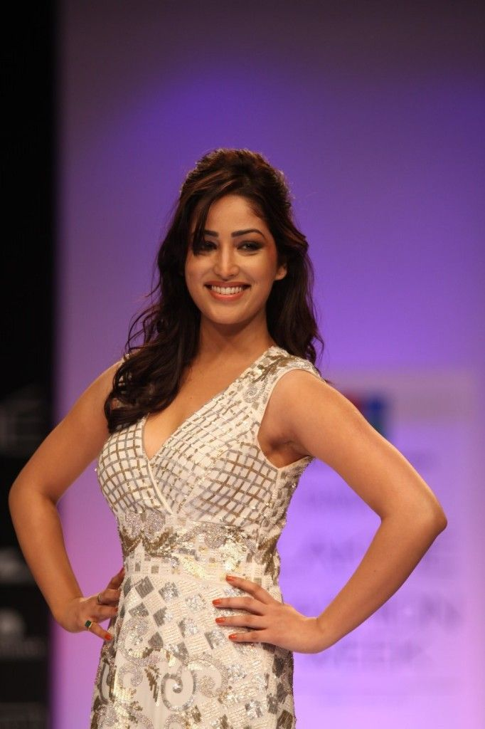 Yami Gautam AT Lakme Fashion Week