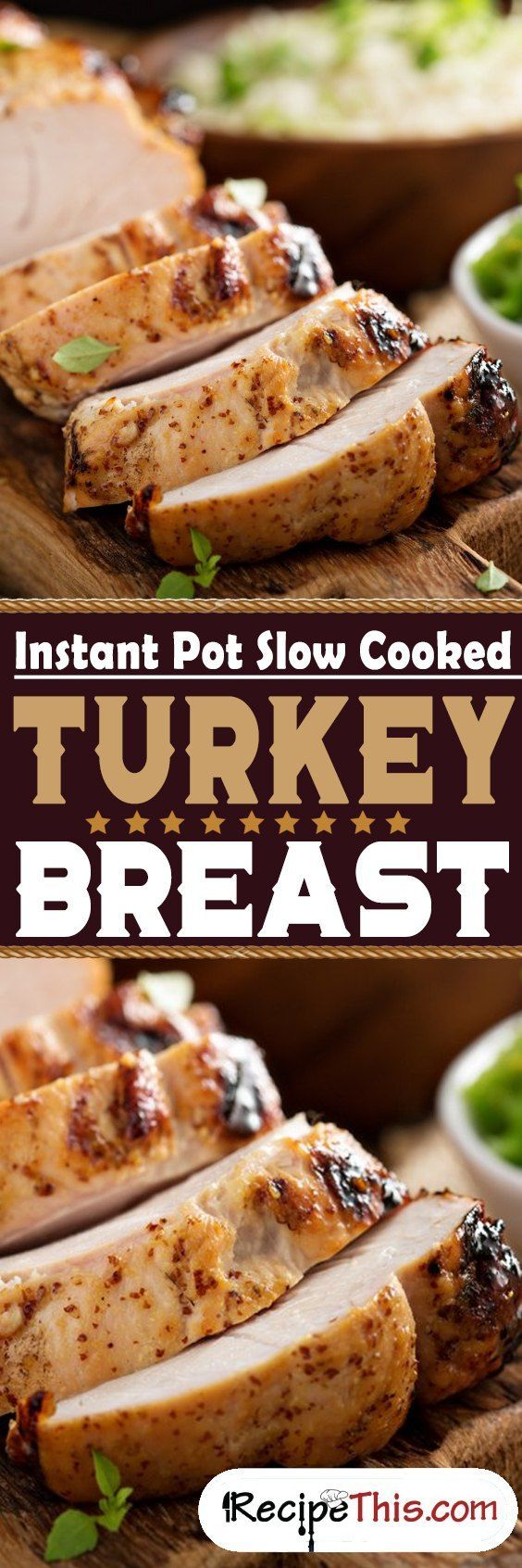 Instant Pot Slow Cooked Turkey Breast