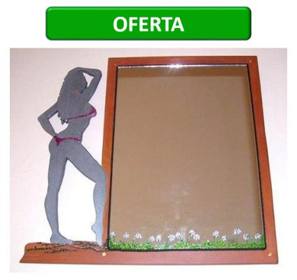 www.claf.cl Espejo Silueta Mujer
