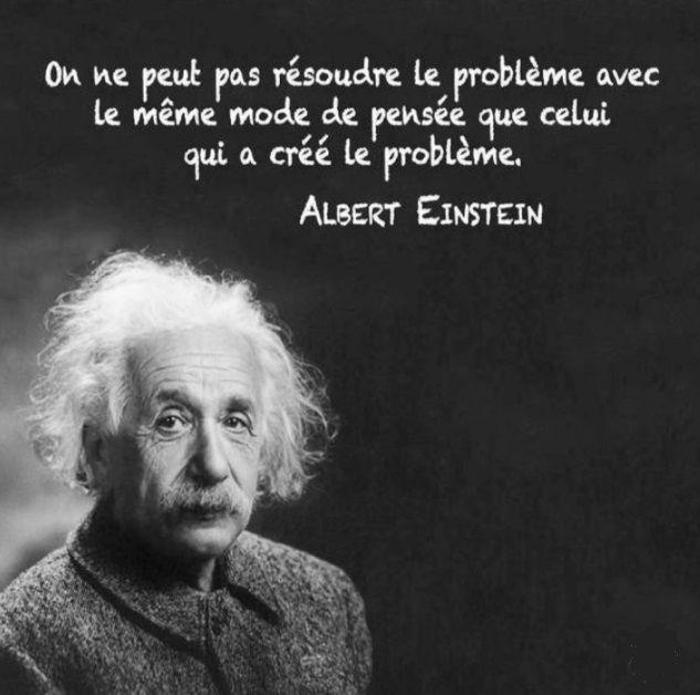 Citation Inspiration Motivation Albert Einstein Resoudre