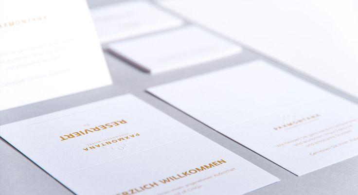 Hotel Paxmontana - Corporate Design