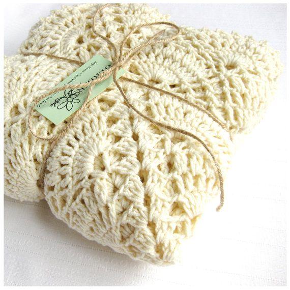 Crochet Pattern Baby Blanket Tutorial Crochet by GerberaHandmade