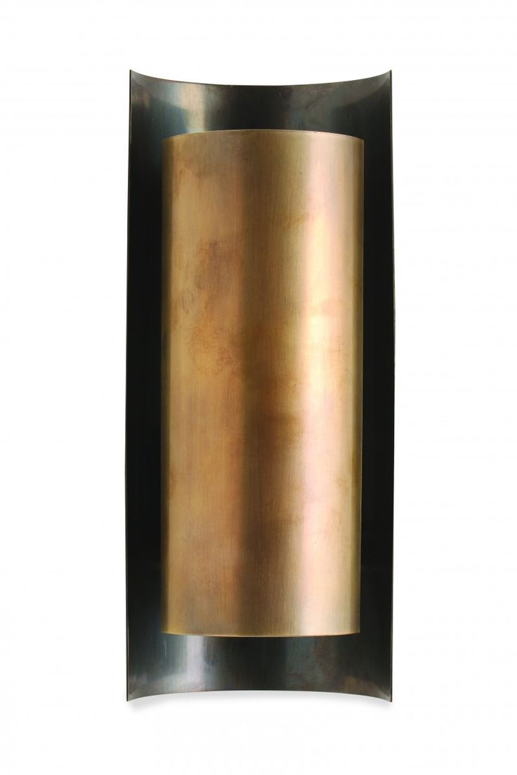 Wildwood brass and crystal beads buffet - Small Covex Wall Light Twl92s Wall Lights Wall Light Gareth Devonald Smith