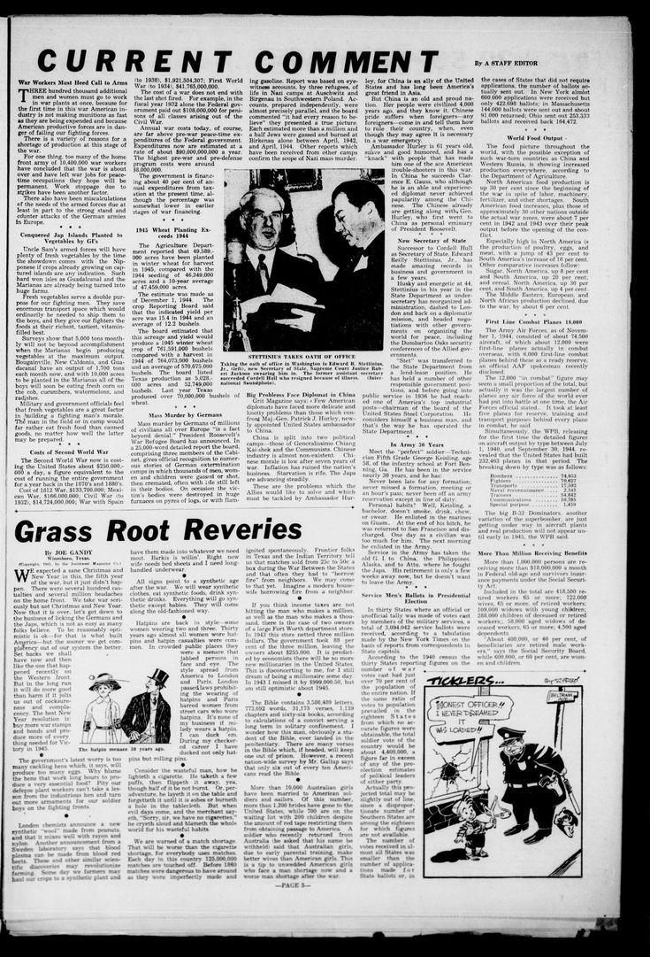 The Cameron Herald (Cameron, Tex.), Vol. 85, No. 39, Ed. 1 Thursday, January 11, 1945 Page: 11 of 16