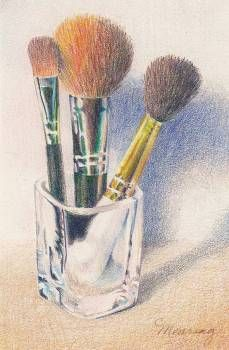 paintings of makeup - Google Search
