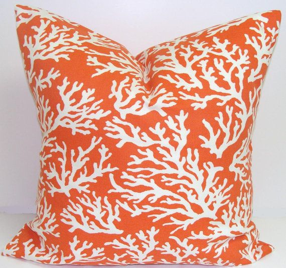 pillow coverorange decorative outdoor pillowthrow
