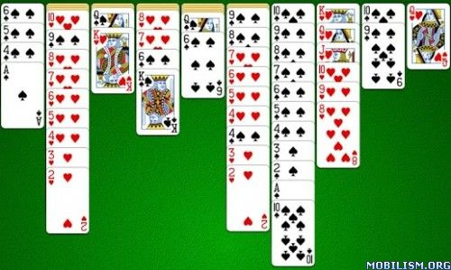 Spider v4.9.4Requirements: Varies with deviceOverview: Welcome to the amazing world of solitaire! Spider is one of the most played patience games in the world.  Now you can enjoy it anytime, and anywhere, on your mobile phone...