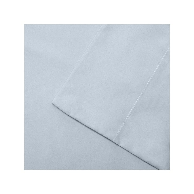 Madison Park 3M Scotchgard Microcell Deep-Pocket Sheets, Blue Cal King