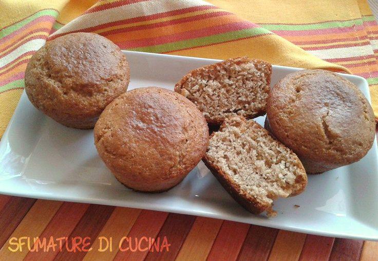 Muffin Integrali senza uova e burro