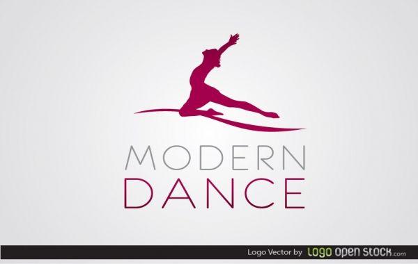 Modern Dance Logo  Free Logos