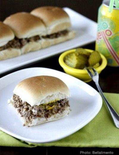 Homemade Famous Krystal Burgers | AllFreeCopycatRecipes.com