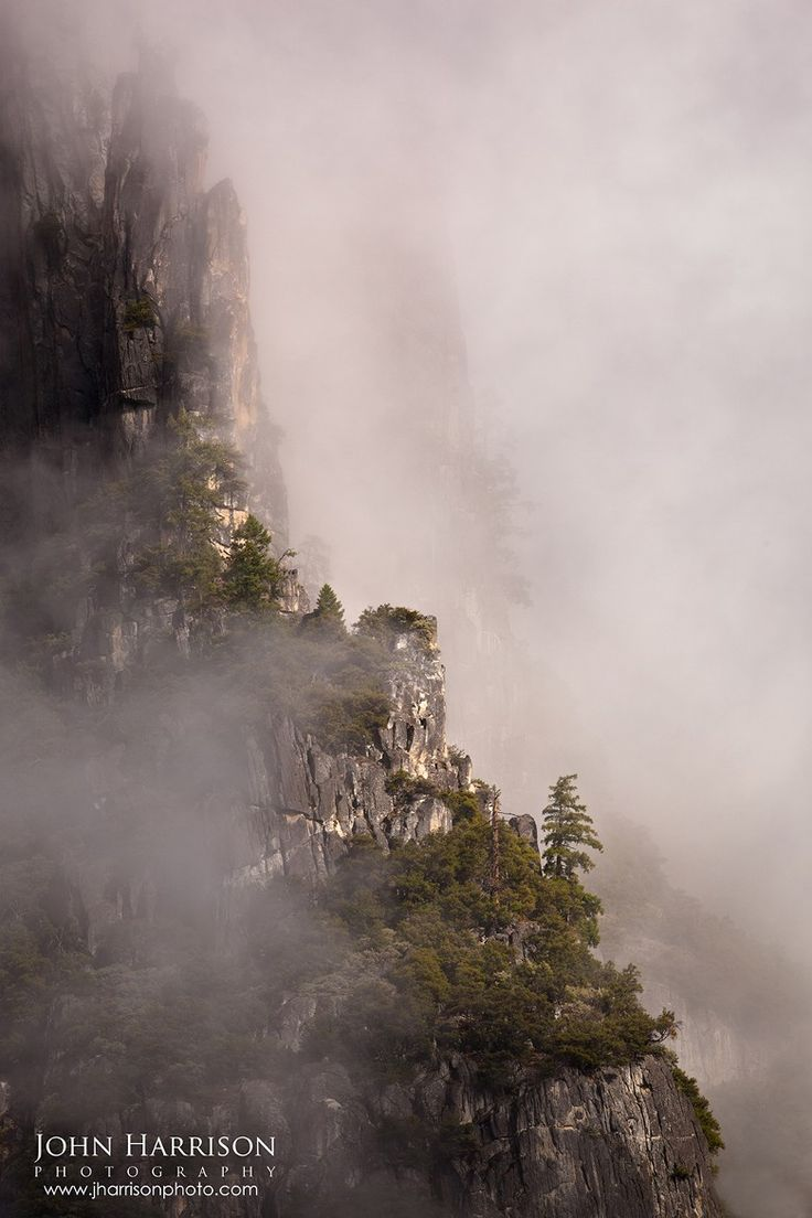 """Photograph """"Spires in the Mist"""" by John Harrison on 500px"""