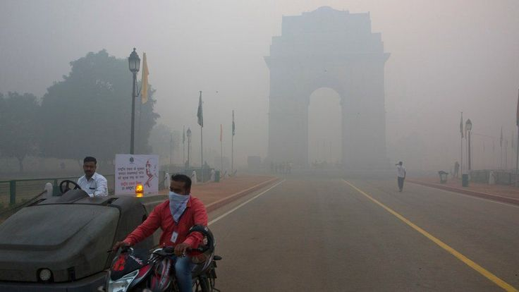 Levels of tiny particulate matter (known as PM 2.5) that reaches deep into the lungs more than doubled within a few hours on Monday to 750 micrograms per cubic metre in the worst affected parts, India's Central Pollution Control Board said  That is 30 times a mean guideline set by the World Health Organization (WHO) of 25 micrograms per cubic metre on average over a 24-hour period.