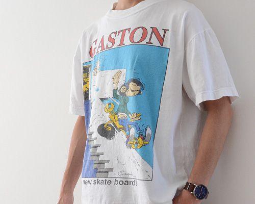 福島市の古着屋 Clothing and more FUNS BLOG: ガストン・ラガフ ヴィンテージ Tシャツ 90年代 コミック | FUNS