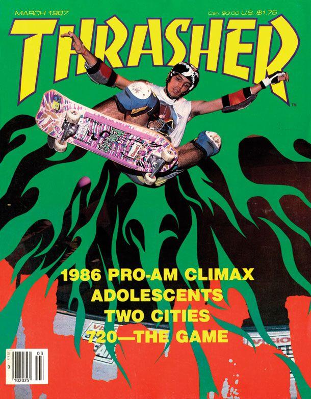 Thrasher Magazine March 1987 cover