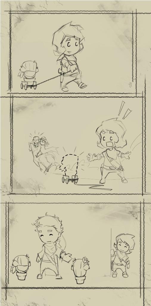 La historia de cómo se conocieron Cactus y Tuna XD