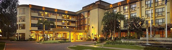Kigali Serena Hotel, Kigali, Rwanda - no tent, but darn nice. Wonderful city!