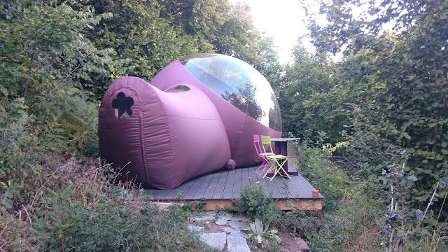 Dormir dans une bulle en Ardèche