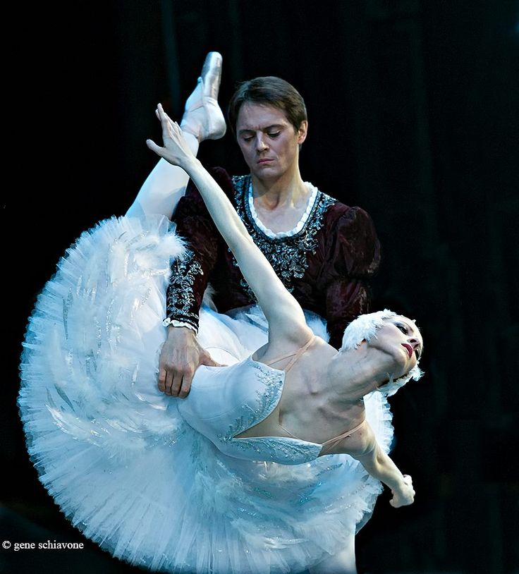 Olga Esina and Yevgeny Ivanchenko at Mariinsky by Gene Schiavone