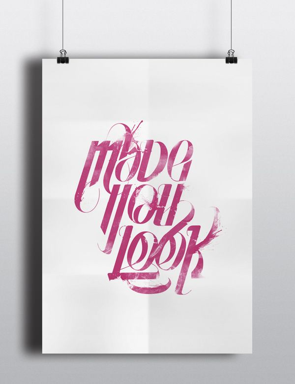 Lucas Young // Typography [made you look]