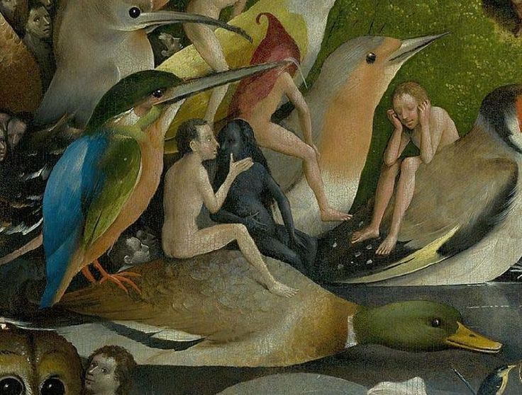 138 best images about heaven and hell on pinterest for Bosch jardin des delices