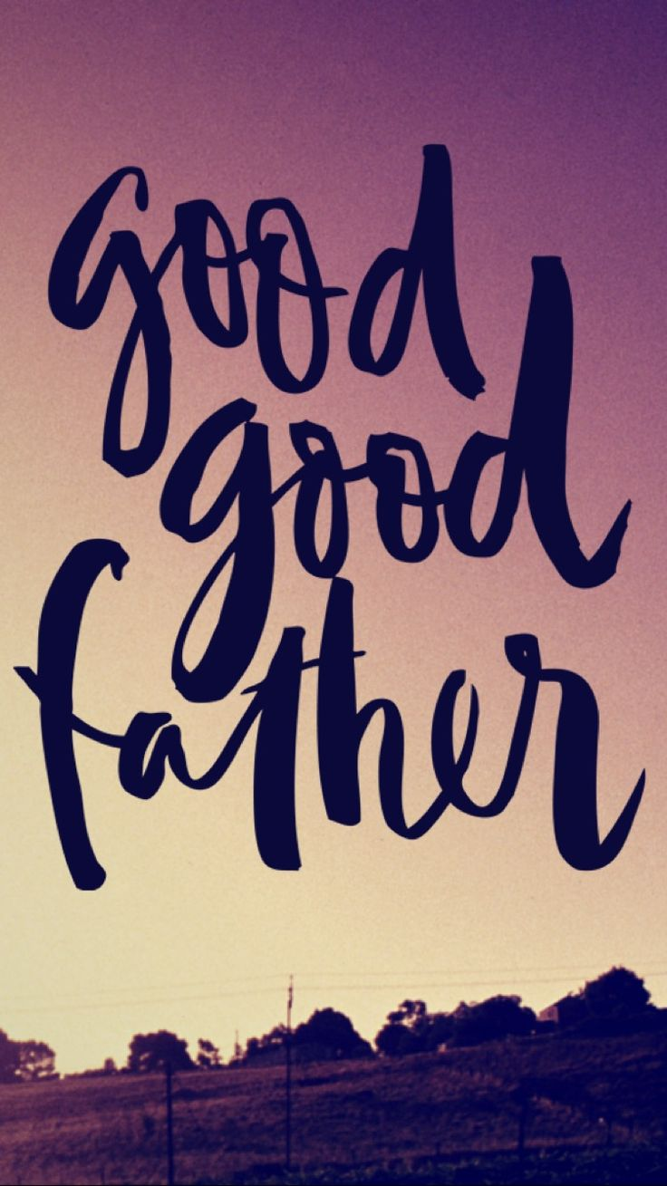 You're a good good father // It's who You are, it's who You are #GoodGoodFather