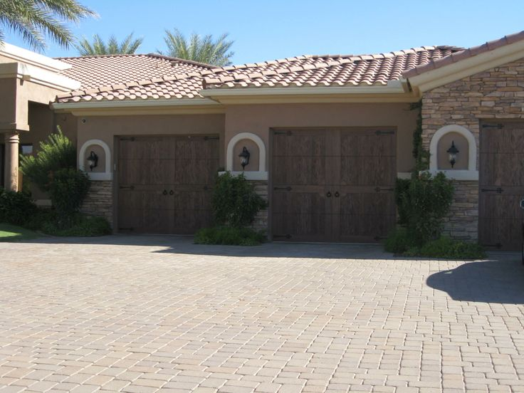 Our Canyon Ridge Collection Of Faux Wood Garage Doors Beautifully Blend  Durability And Style.