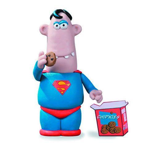 Aardman Superman Action Figure SDCC Exclusive