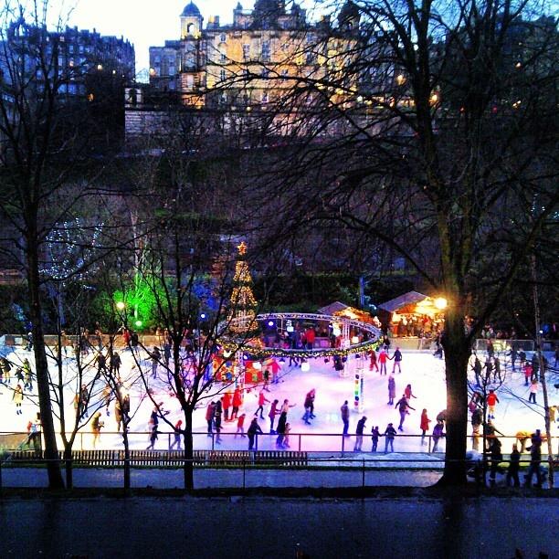 winter wonderland in edinburgh today christmas iceskating scotland by premierweddingplannersscotland - instaview.me