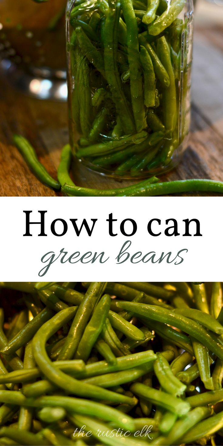 Canning green beans is a great way to preserve your harvest for the long winter and save freezer space. This pressure canning tutorial takes you through this easy process. Let's get canning!