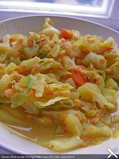 Spitzkohl-Curry, ein raffiniertes Rezept aus der Kategorie Vegetarisch. Bewertungen: 46. Durchschnitt: Ø 4,5.
