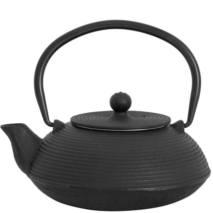 Our cast iron teapots are all hand cast and hand finished. Cast iron teapots heat evenly and keep heat for a longer period of time. Theycan also enhance the flavour of tea and can last forever with proper care. The enamel coated interior prevents rust.
