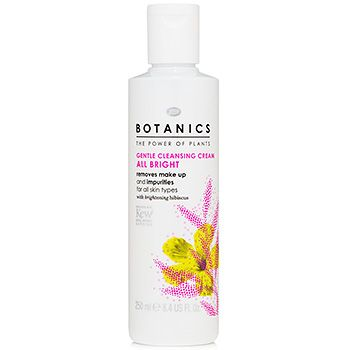Boots Botanics Gentle Cleansing Cream All Bright My current favorite morning cleanser. Good for dry winter weather!