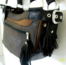 Black Pearl Handbag Designed and made by my wife