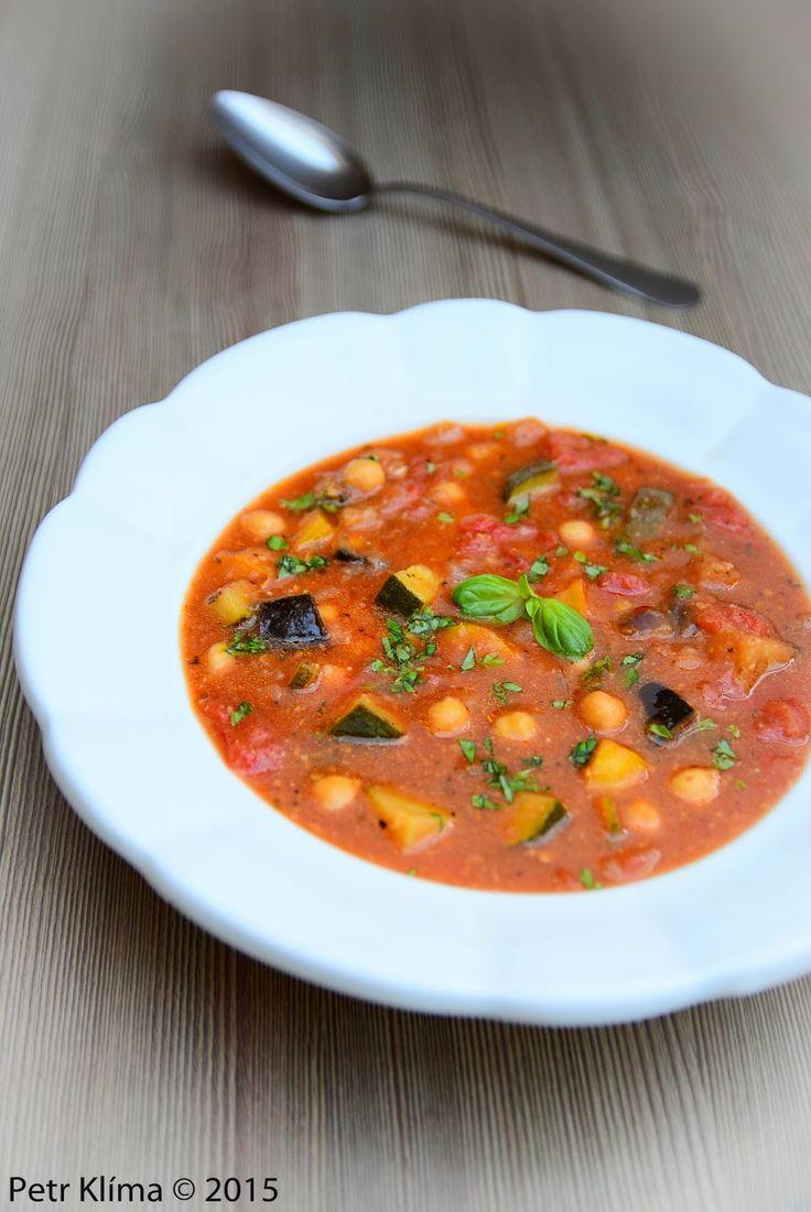 cizrnovo rajčatová polévka greenwayfood