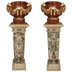19th Century Rouge Griotte and Ormolu Louis XVI St…