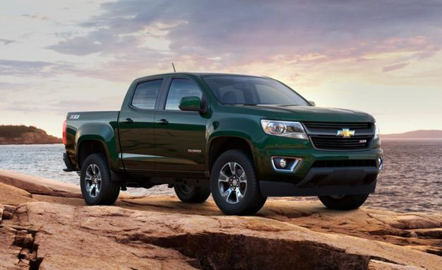 Chevy Colorado LT my next truck~ Green!!
