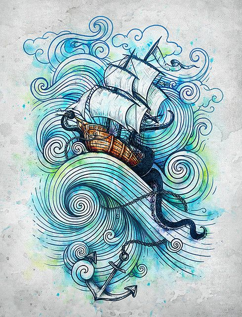 barco en la marea