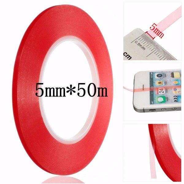 Cinta Adhesiva Transparente De 5 Mm Resistente Al Calor De Doble