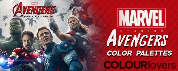 Marvel's Avengers 2 - Character Color Palettes [ Infographic ] ~~ With the excitement building of Avengers 2 - Age of Ultron, another amazing Marvel movie, coming out this Friday, we thought it would relevant to take a look at some color related to the hero's. In the past, we've posted about The Colors of Good …