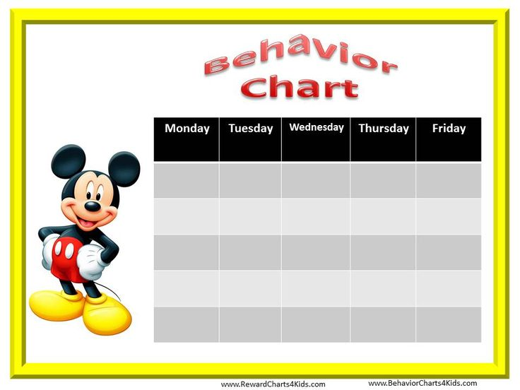 128 Best Behavior Charts Images On Pinterest | Classroom Behavior