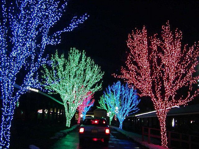 christmas lights by Reno Tahoe Window Cleaning & Christmas Lights, via Flickr