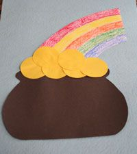 pot of gold craft 1000 images about lucky charm on 5249