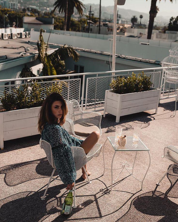 """""""Mi piace"""": 7,225, commenti: 91 - Valentina Marzullo (@valentinamarzullo) su Instagram: """"Chilling on the rooftop @hotelbeverlyterrace"""""""